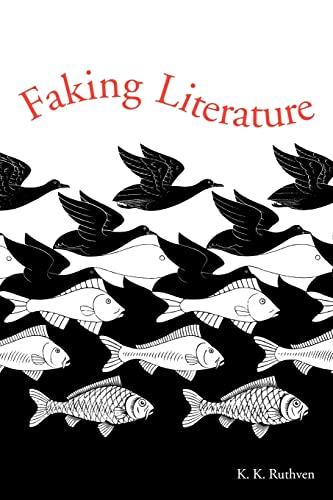 9780521669658: Faking Literature
