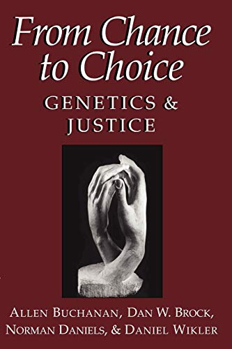 9780521669771: From Chance to Choice: Genetics and Justice