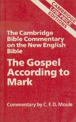 The Gospel According to Mark: Ackroyd