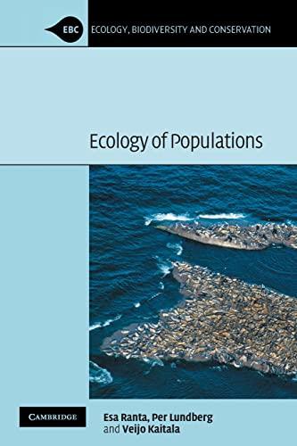Ecology of Populations.: Ranta, Esa