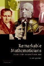 9780521670487: Remarkable Mathematician: From Euler To Von Neumann