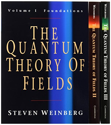 9780521670562: The Quantum Theory of Fields 3 Volume Paperback Set