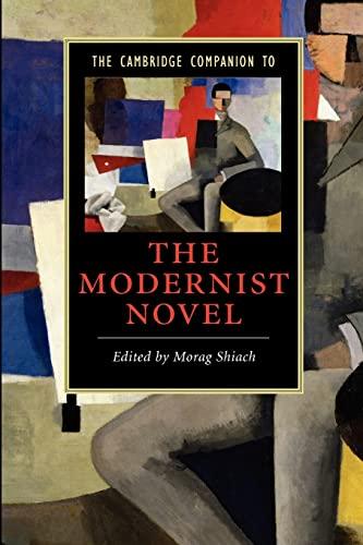 9780521670746: The Cambridge Companion to the Modernist Novel (Cambridge Companions to Literature)
