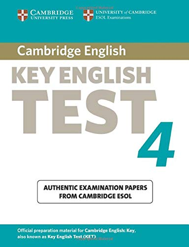 9780521670814: Cambridge Key English Test 4 Student's Book (KET Practice Tests)