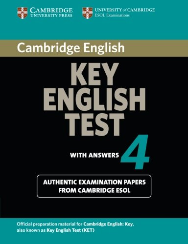 9780521670821: Cambridge Key English Test 4 Student's Book with Answers (KET Practice Tests)