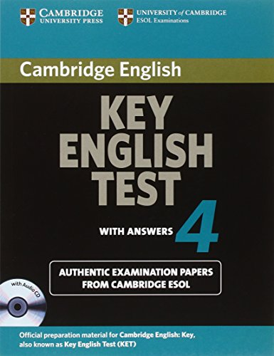 9780521670838: Cambridge Key English Test 4 Self Study Pack (KET Practice Tests)