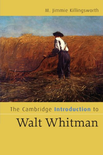 9780521670944: The Cambridge Introduction to Walt Whitman Paperback (Cambridge Introductions to Literature)