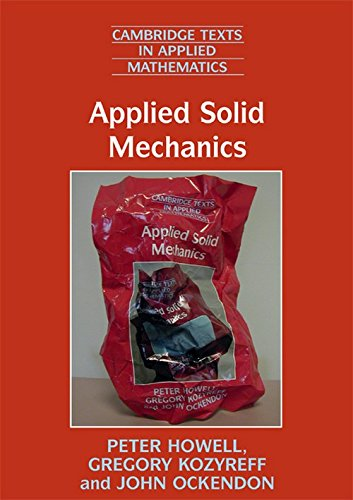 9780521671095: Applied Solid Mechanics (Cambridge Texts in Applied Mathematics)