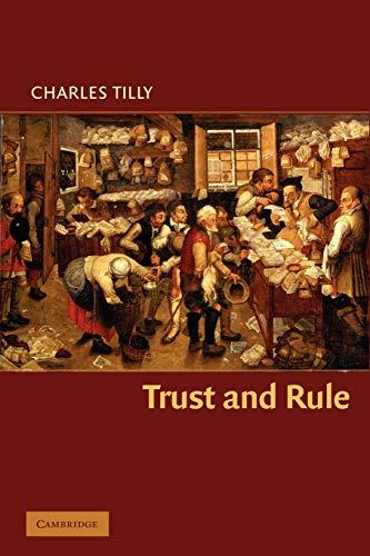 9780521671354: Trust and Rule (Cambridge Studies in Comparative Politics)