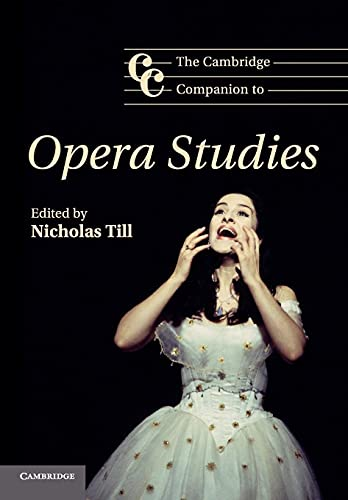 9780521671699: The Cambridge Companion to Opera Studies Paperback (Cambridge Companions to Music)