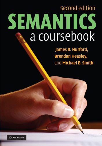 9780521671873: Semantics 2nd Edition Paperback: A Coursebook