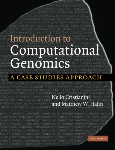 9780521671910: Introduction to Computational Genomics: A Case Studies Approach