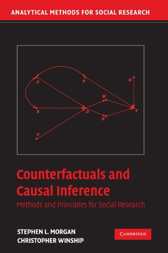 9780521671934: Counterfactuals and Causal Inference: Methods and Principles for Social Research (Analytical Methods for Social Research)