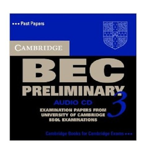 9780521671972: Cambridge BEC Preliminary 3 Audio CD (BEC Practice Tests)