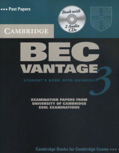 9780521672009: Cambridge BEC Vantage 3 Self Study Pack (BEC Practice Tests)
