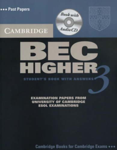 9780521672047: Cambridge BEC Higher 3 Self Study Pack (BEC Practice Tests)