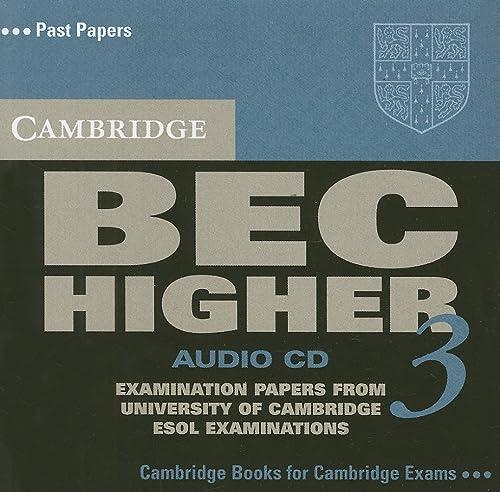 9780521672054: Cambridge BEC Higher 3 Audio CD (BEC Practice Tests)