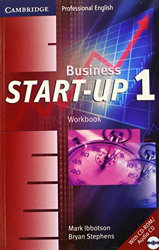 9780521672078: Business Start-Up 1 Workbook with Audio CD/CD-ROM (Cambridge Professional English)