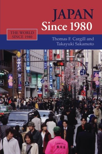 9780521672726: Japan since 1980 (The World Since 1980)