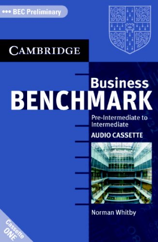 9780521672870: Business Benchmark Pre-Intermediate to Intermediate Audio Cassettes BEC Preliminary Edition