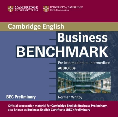 9780521672887: Business Benchmark Pre-Intermediate to Intermediate Audio CDs BEC Preliminary Edition