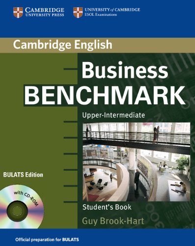 9780521672894: Business Benchmark Upper Intermediate Student's Book with CD ROM BULATS Edition