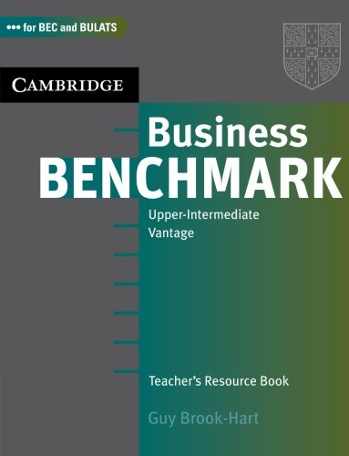 9780521672900: Business Benchmark Upper Intermediate Teacher's Resource Book