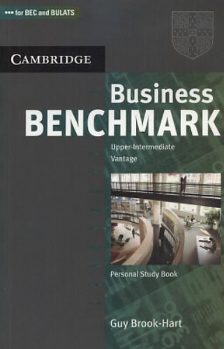 9780521672917: Business Benchmark Upper Intermediate Personal Study Book BEC and BULATS Edition