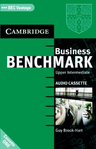 9780521672924: Business Benchmark Upper Intermediate Audio Cassettes BEC Vantage Edition