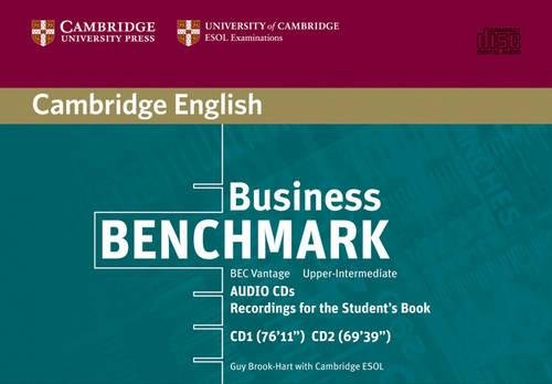 9780521672931: Business Benchmark Upper Intermediate Audio CDs BEC Vantage Edition