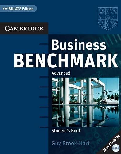 9780521672948: Business Benchmark. Advanced. BULATS Student's Book. Con CD-ROM