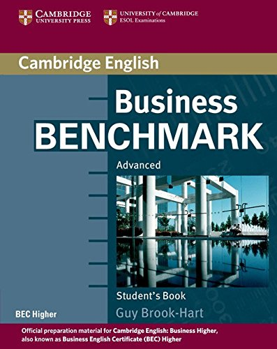 9780521672955: Business Benchmark Advanced Student's Book BEC Higher [Lingua inglese]