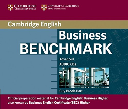 9780521672993: Business Benchmark Advanced Audio CD BEC Higher