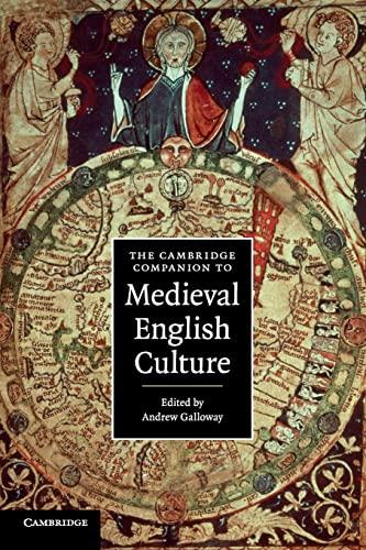 9780521673273: The Cambridge Companion to Medieval English Culture (Cambridge Companions to Culture)