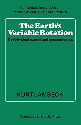 The Earth's Variable Rotation: Lambeck, Kurt