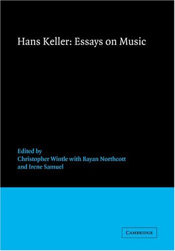 9780521673488: Essays on Music