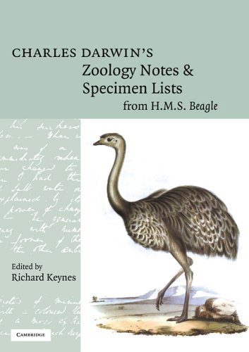 9780521673501: Charles Darwin's Zoology Notes and Specimen Lists from H. M. S. Beagle