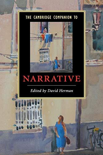 9780521673662: The Cambridge Companion to Narrative (Cambridge Companions to Literature)