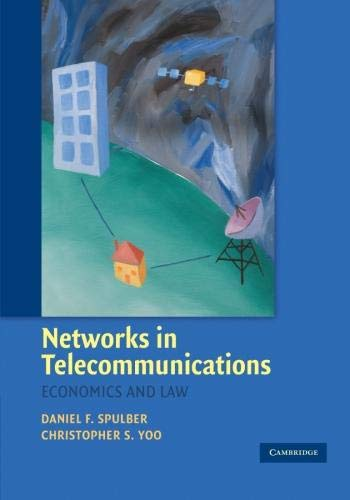 9780521673860: Networks in Telecommunications: Economics and Law
