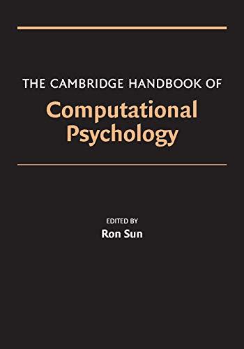 9780521674102: The Cambridge Handbook of Computational Psychology (Cambridge Handbooks in Psychology)