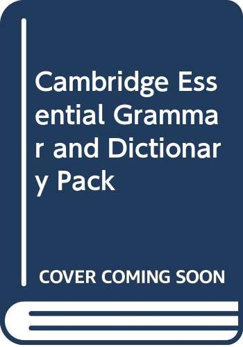 9780521674386: Cambridge Essential Grammar and Dictionary Pack