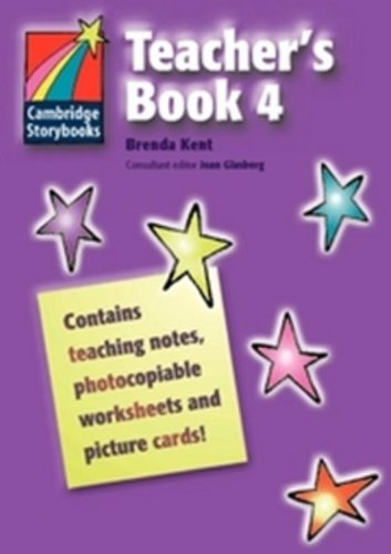 9780521674911: Cambridge Storybooks Teacher's Book 4