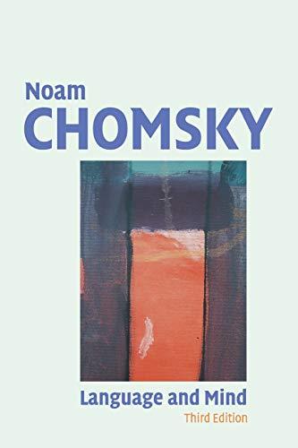 Language and Mind: Noam Chomsky
