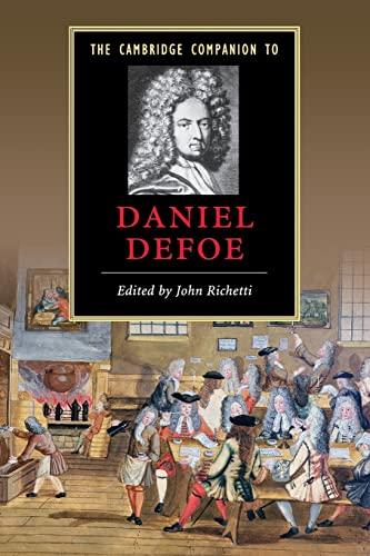 9780521675055: The Cambridge Companion to Daniel Defoe