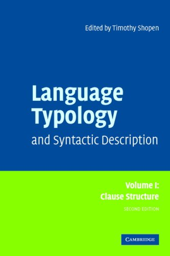 9780521675284: Language Typology 3 Volume Paperback Set