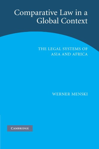 9780521675291: Comparative Law in a Global Context: The Legal Systems of Asia and Africa