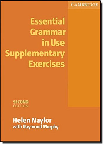 9780521675413: Essential grammar in use. Supplementary exercises. Without answers. Per le Scuole superiori