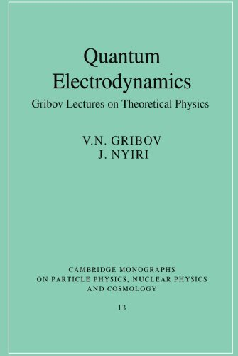Quantum Electrodynamics: Gribov Lectures on Theoretical Physics: Gribov, V. N.