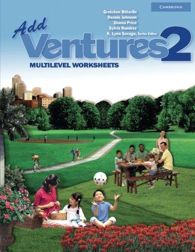 9780521675840: Add Ventures 2: Multilevel Worksheets
