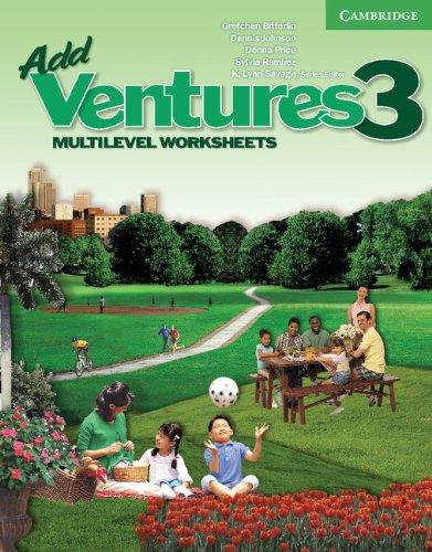 9780521675857: Add Ventures 3 - Multilevel Worksheets